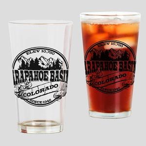 A-Basin Old Circle Black Drinking Glass