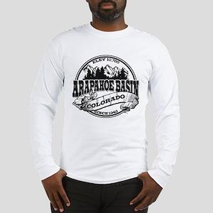 A-Basin Old Circle Black Long Sleeve T-Shirt