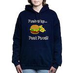 Fueled by Fast Food Women's Hooded Sweatshirt