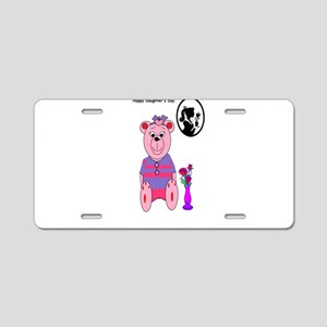 Happy Daughters day Aluminum License Plate