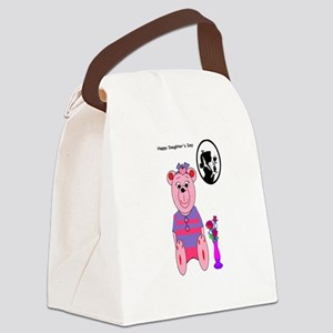 Happy Daughters day Canvas Lunch Bag