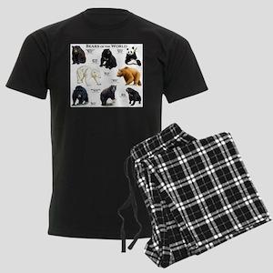 Bears of the World Men's Dark Pajamas