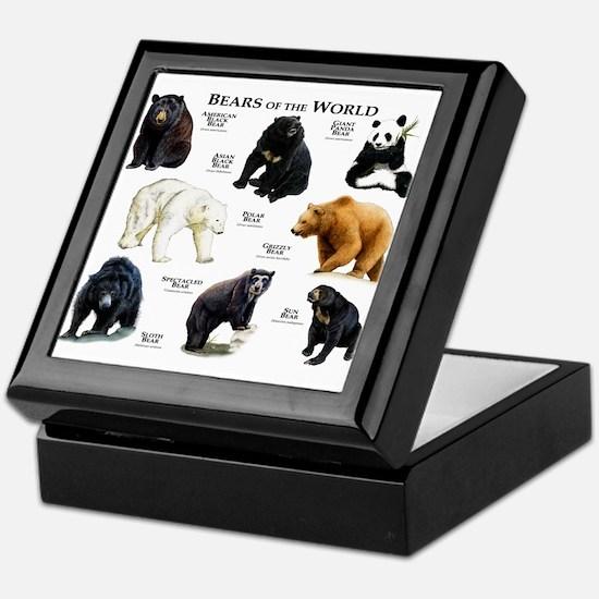 Bears of the World Keepsake Box