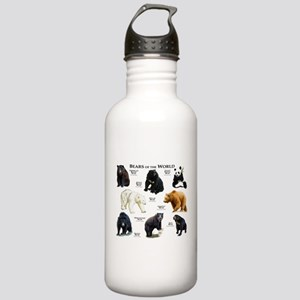 Bears of the World Stainless Water Bottle 1.0L