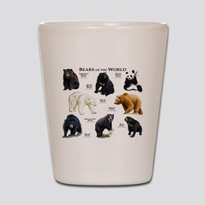 Bears of the World Shot Glass