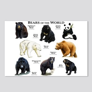 Bears of the World Postcards (Package of 8)