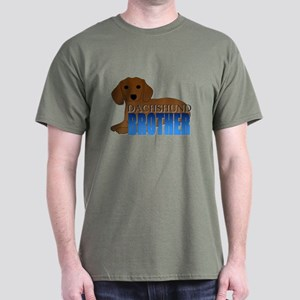 Dachshund Brother Dark T-Shirt