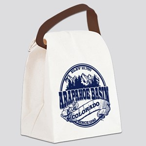 A-Basin Old Circle Blue Canvas Lunch Bag