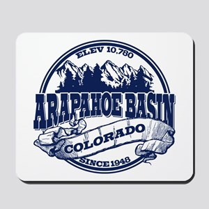 A-Basin Old Circle Blue Mousepad