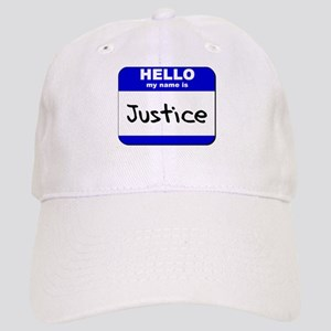 hello my name is justice Cap