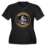 MCDC T-Shirts & Gear Women's Plus Size V-Neck Dark