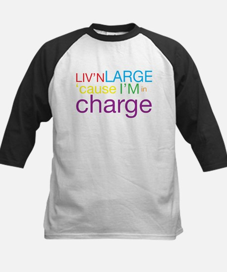 Livn Large cause Im in Charge Baseball Jersey