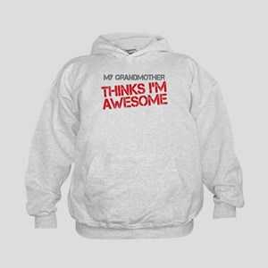 Grandmother Awesome Kids Hoodie