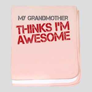 Grandmother Awesome baby blanket