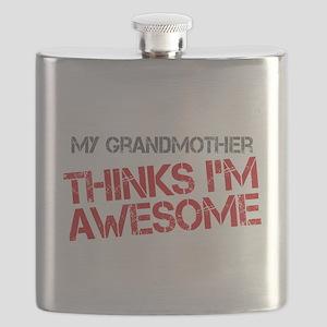 Grandmother Awesome Flask