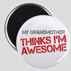 Grandmother Awesome Magnet