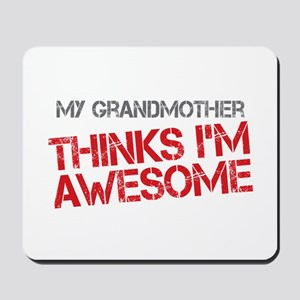 Grandmother Awesome Mousepad