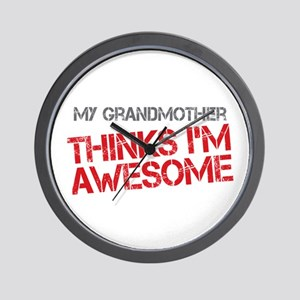Grandmother Awesome Wall Clock