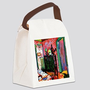 Kandinsky: Interior, My Dining Ro Canvas Lunch Bag