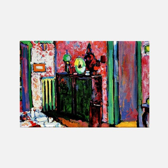 Kandinsky: Interior, My Dining Ro Rectangle Magnet