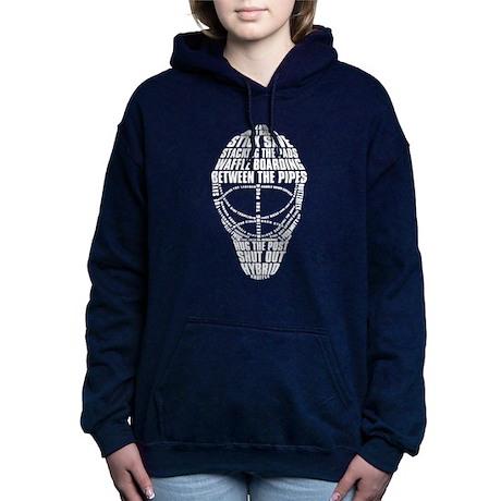Hockey Goalie Mask Hooded Sweatshirt