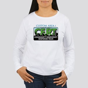 CUSTOM CERT LOGO Long Sleeve T-Shirt