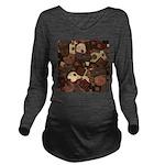 Got Chocolate? Long Sleeve Maternity T-Shirt