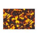 Hot Lava Mini Poster Print