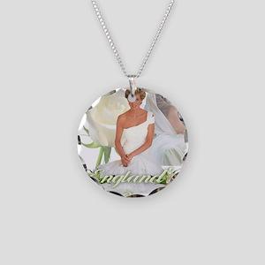Princess Diana England's Ros Necklace Circle Charm