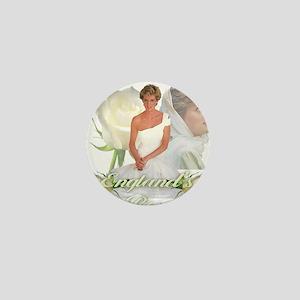 Princess Diana England's Rose Mini Button