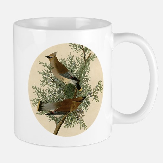 Audubon Cedar Waxwing Bird Mugs