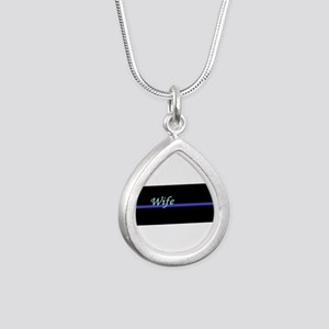 Blue Line Wife Necklaces