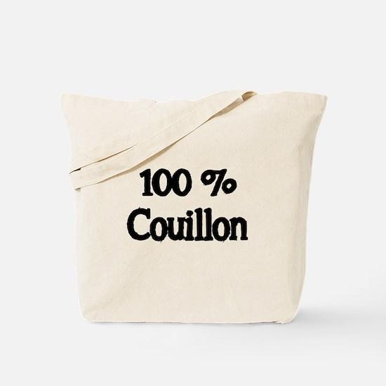100% Couillon Tote Bag