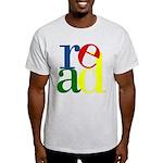 Read - Inspirational Education Light T-Shirt