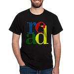 Read - Inspirational Education Dark T-Shirt