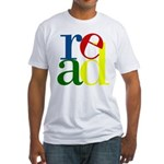 Read - Inspirational Education Fitted T-Shirt