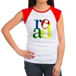 Read - Inspirational Education Women's Cap Sleeve