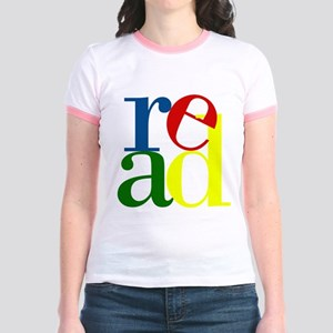 Read - Inspirational Education Jr. Ringer T-Shirt
