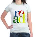 Read - Inspirational Education Jr. Ringer T-Shirt