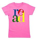 Read - Inspirational Education Girl's Tee