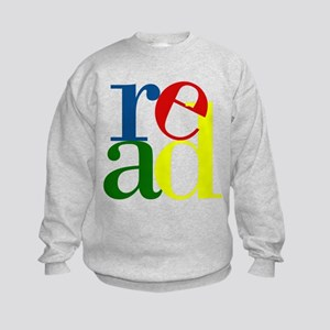 Read - Inspirational Education Kids Sweatshirt