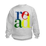 Read - Inspirational Education Kids Sweatshirt