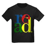 Read - Inspirational Education Kids Dark T-Shirt
