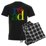 Read - Inspirational Education Men's Dark Pajamas