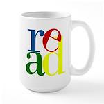 Read - Inspirational Education Large Mug