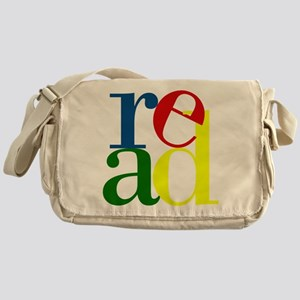 Read - Inspirational Education Messenger Bag