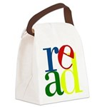 Read - Inspirational Education Canvas Lunch Bag