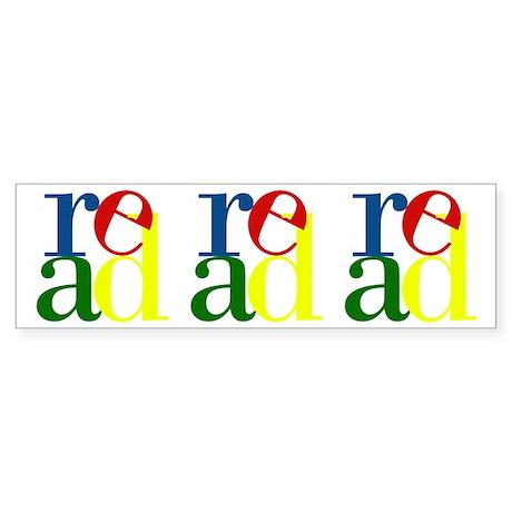 Read - Inspirational Education Sticker (Bumper 10