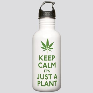 Keep Calm Its Just A Plant Water Bottle