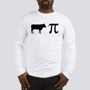 Cow Pi (pie) Long Sleeve T-Shirt